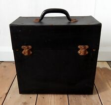 "Vintage Record LP Storage Carry Case Box Vinyl Album 12"" #B"