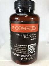 Amazon Elements B Complex High Potency, Vegan, Gluten Free - 65 Capsules