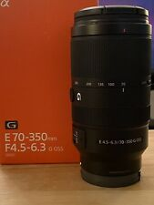 Sony E 70-350mm f/4.5-6.3 G OSS Zoom Lens
