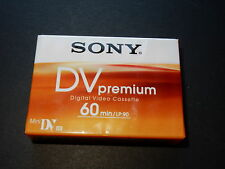 10 Pk Sony Mini DV Tape Premium 60min/LP-60 1 Hour tape SP60 camcorder DVM60PR4