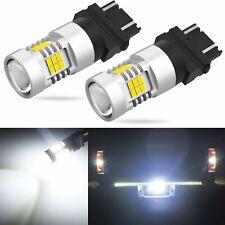 JDM ASTAR 2500 LM 3157 3156 Xenon White PX SMD Signal Brake Tail Light LED Bulbs