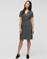 Jigsaw Primrose Ditsy Teadress Womens New Blue Navy