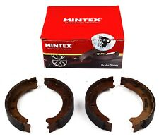 MINTEX REAR PARKING BRAKE SHOES SET FOR VOLVO MFR475 (REAL IMAGE OF PART)