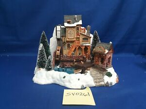 Lemax Village Collection Oak Creek Grist Mill #36321 As-Is SV0261