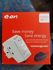 ENERGY SAVING ONE CLICK POWER DOWN PLUG SOCKET TV+AUDIO REMOTE SURGE PROTECTION