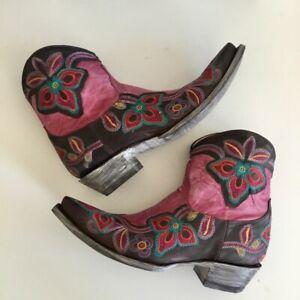 NIB Old Gringo Marrione Zipper boots (8)