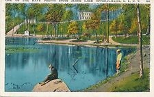 JAMAICA QUEENS NY – Lake Upton One of the Many Pretty Spots - 1937