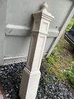 """54"""" Antique Vintage Victorian Oak SOLID Wood Wooden Staircase Stair Newel Post"""