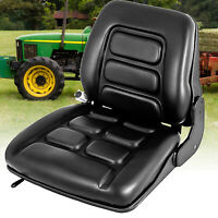 UNIVERSAL VINYL FORKLIFT SUSPENSION SEAT FIT CLARK HYSTER TOYOTA HIGH NEW SELL