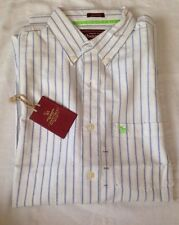 Abercrombie And Fitch Marina Blanca Vintage Botón Frontal Camisa Talla XXL