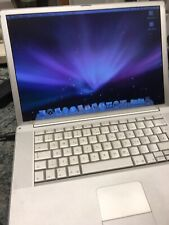 Apple Powerbook G4 1,5 Ghz 2 GB 100 GB Mac OS 10.5 Top Modell WLAN Bluetooth Rar