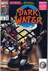 Pirates Of Dark Water 5 March 1992 Marvel Comics USA $1.25