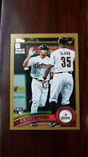 2011 Topps Update J.D. MARTINEZ Gold RC RED SOX Rookie /2011 #US186