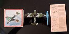 Antique Tin Model Plane~ Heinkel - Kampfflugzeug He 70 No 819 B Made in Germany