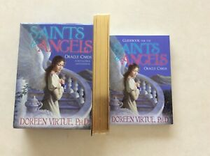 Saints and Angels Original Oracle Cards and Guidebook by Doreen Virtue, exc cond