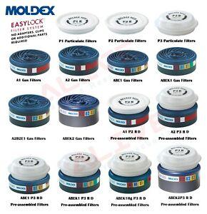 Moldex EasyLock Filters for Moldex Series 7000 & 9000 Masks