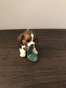 Hallmark Keepsake Puppy Love Ornament.1997.Pre-Owned