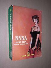 NANA. EMILE ZOLA. 1959 1st EDITION CORGI GIANT PAPERBACK
