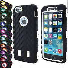 Ultra Shockproof Armor Rugged Rubber Silicone Case Cover For iPhone 7 6 6S 5 SE