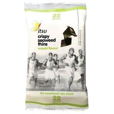 Itsu Wasabi Crispy Seaweed Thins 5g (Pack of 18)