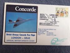 British Airways Concorde First Flight London - Graz 29th March 1981