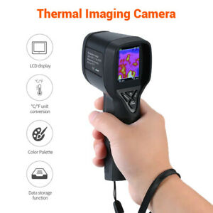Handled Infrared IR Thermal Imaging Camera Inspection Refresh Rate Measurer Set