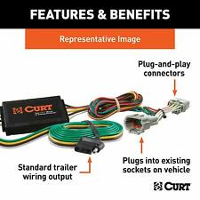 Curt Manufacturing 56074 Trailer Connector Kit | Fits 09-11 FX35 & 09-10 FX50