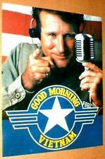 GOOD MORNING VIETNAM Robin Williams 1987 Movie Poster near MINT