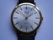 Vintage gents wristwatch AVIA mechanical watch working SGT 200-E 4 swiss