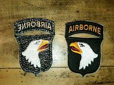 Copie US insigne Patch 101st Airborne Paratrooper Insignia Para Parachutiste WW2