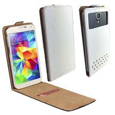 Sony Ericsson Xperia Arc S - Handy Schutzhülle Tasche Hülle Flip Weiß XS