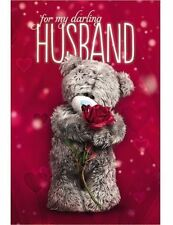 For My Darling HUSBAND  - Medium 3D -  Tatty Teddy Me to You - Anniversary Card