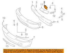 GM OEM Front Bumper-Bumper Bracket Left 12472150