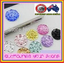 Home Button Sticker Crystal Diamond Stone  For Iphone 3,4,5,6,6+,Ipod,Ipad,Itouc