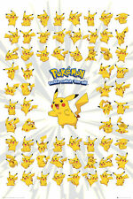 POKEMON Poster - PIKACHU - New Pokemon gaming poster FP3497