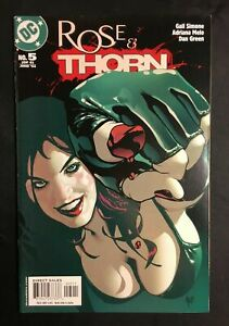 ROSE AND THORN 5 ADAM HUGHES COVER ART VF/NM+ VOL 1 BATMAN CATWOMAN DC COMIC