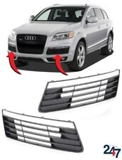 NEW AUDI Q7 4L 2006 - 2009 S LINE FRONT BUMPER UPPER GRILL LEFT RIGHT PAIR SET