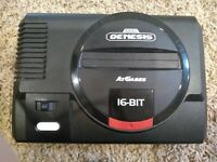 Sega Genesis Classic Game Console by ATGames with chords + controller + game