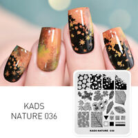 KADS Nail Art Stamp Template Nail Stamping Plates Image Manicure Stencil Design