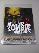 All Things Zombie Miniatures: Nowhere Nevada (New)
