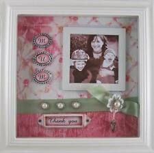 Scrapbook Style Shadow Box MUM Photo Frame NEW Arrival