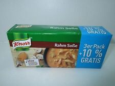 3 x 3er Pack KNORR Delikatess Rahm/Cream sauce for roast fresh from Germany New