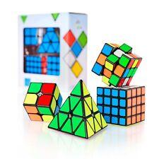 CUBIDI® Original Zauberwürfel Set 3x3 2x2 Pyramide Speedcube Dreh Puzzle 3D neu