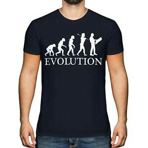 CONSTRUCTION SITE MANAGER EVOLUTION OF MAN MENS T-SHIRT TEE TOP GIFT
