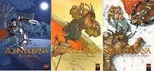 Lot Récit complet 1er cycle-trilogie Zorn & Dirna Morvan Bessadi Trannoy Fantasy