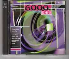 (HH918) 6000 Ohm!, 21 tracks various artists - 1994 double CD