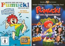 5 DVDs * PUMUCKL BOX STAFFEL 1 + FILM ZIRKUSABENTEUER IM SET # NEU OVP !
