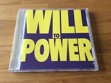 WILL TO POWER- Will to Power Same 1988  Rare CD
