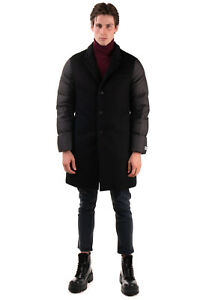RRP €2380 BURBERRY Down Coat Size 46 / XS Cashmere & Wool Front Made in Italy