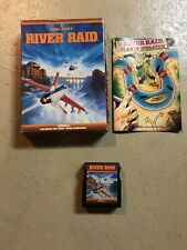 RARE River Raid Activision Atari 400/800/XL/XE, 1983 Complete CIB FREE SHIPPING!